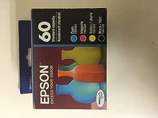 Genuine Epson 60 Ink Cartridge Set - T0601 / T0602 / T0603 / T0604 (CX3800, CX3810, CX4800, CX5800F, CX7800, CX4200, C68, C88, C88
