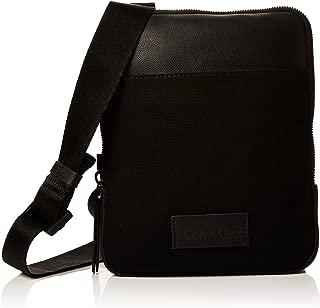 Modern Bound Flat Crossover, Men's Shoulder Bag, Black, 3x26x21 cm (B x H T)