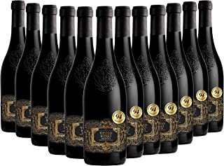 VERSO Salento Rosso IGT, Vino Rosso, Vino Ideale per Arrosti, Piatti a Base di Selvaggina quali Cinghiale e Cervo, 12 x 75...