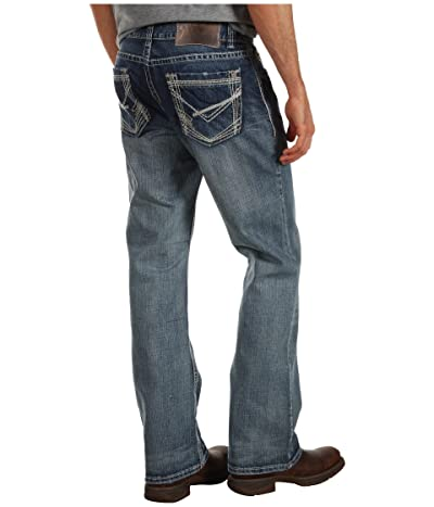 Rock and Roll Cowboy Revolver Slim Straight Reflex Jeans in Medium M1R2396 (Medium Vintage) Men