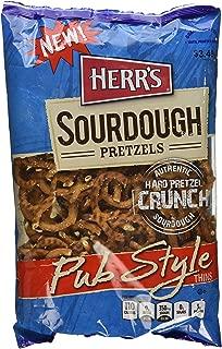 Herr's Pub Style Sourdough Thin Pretzels, 12.0 Ounce