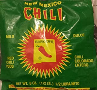 Barkers MILD Red Chili Pods From Hatch, New Mexico (8 oz.)