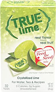 True Lime Crystallized Lime 32 x .8g Packets – 0.91 oz.