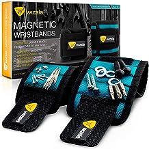 Wizsla manyetik bileklik (set 2) vidalar, çiviler, kolye uçları, pinler matkap Bits için 2boy, her el bileği veya Görevim...