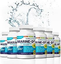 """Marine Essentials Vitamin D3 Omega 3 Fish Oil - """"Marine-D3"""" 340mg Vitamin D3 DHA Anti Aging Omega 3 Fish Oil Dietary Supplement (360 Capsules)"""