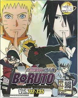 BORUTO : NARUTO NEXT GENERATIONS (BOX 25) - COMPLETE ANIME TV SERIES DVD BOX SET (712-735 EPISODES)