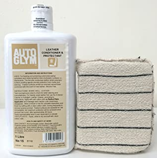Autoglym Leather Conditioner & Protectant 1 Liter w/Free Applicator