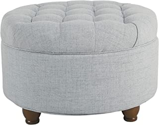 Best blue tufted cocktail ottoman Reviews