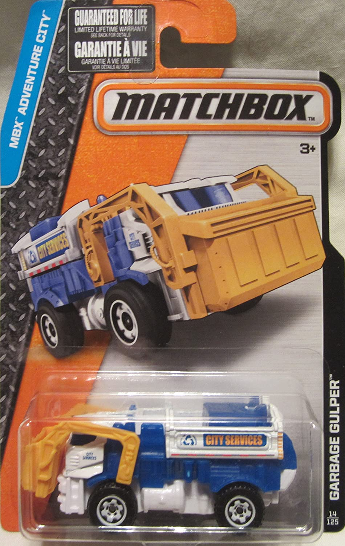 2016 Matchbox MBX Adventure City Garbage Gulper 14 125 by Matchbox