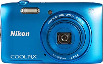 Nikon Coolpix S3600 - Cámara compacta de 20.1 MP (Pantalla de 2.7