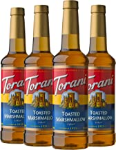 Torani Syrup, Toasted Marshmallow, 25.4 Ounces (Pack of 4)