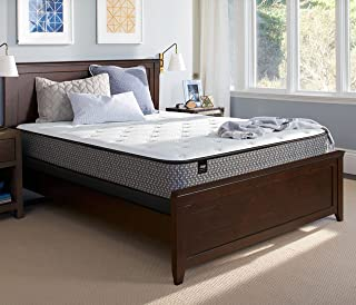 Sealy 11-Inch Cushion Firm Tight Top Mattress, Queen, Made in USA 10 Year Warranty