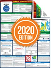 Compliance Assistance - 2020 Florida State and Federal All-in-one Labor Law Poster - Laminated (English)