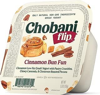 Chobani Flip Low-fat Greek Yogurt, Cinnamon Bun Fun 5.3oz