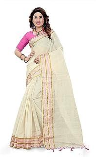 e01ed0f4a554b3 Whites Women's Sarees: Buy Whites Women's Sarees online at best ...