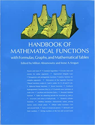 Handbook of Mathematical Functions: with Formulas, Graphs, and Mathematical Tables (Dover Books on Mathematics) (English Edition)