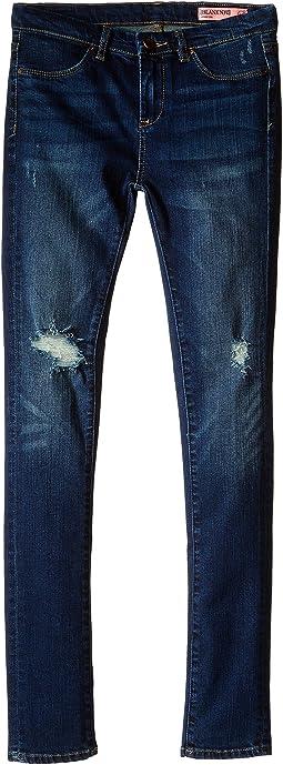 Blank NYC Kids - Denim Ripped Skinny Jeans in Junk Drawers (Big Kids)