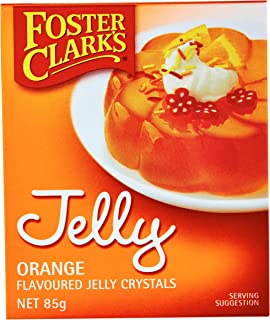 Foster Clarks Orange Jelly Crystal, 85 g