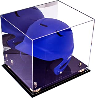 Deluxe Acrylic Baseball Batting Helmet Display Case