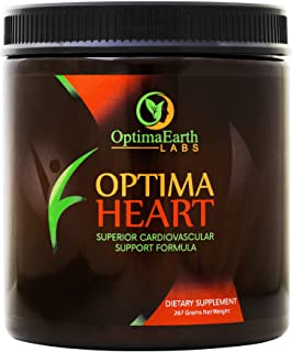 Optima Heart - Heart Health Supplements - Artery Cleanse, Lower Cholesterol & Blood Pressure - by OptimaEarth Labs