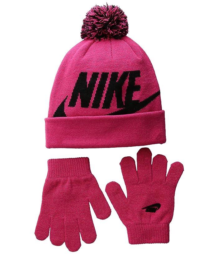 85ffc3350 Nike Kids Swoosh Pom Beanie Gloves Set (Little Kids/Big Kids) at 6pm