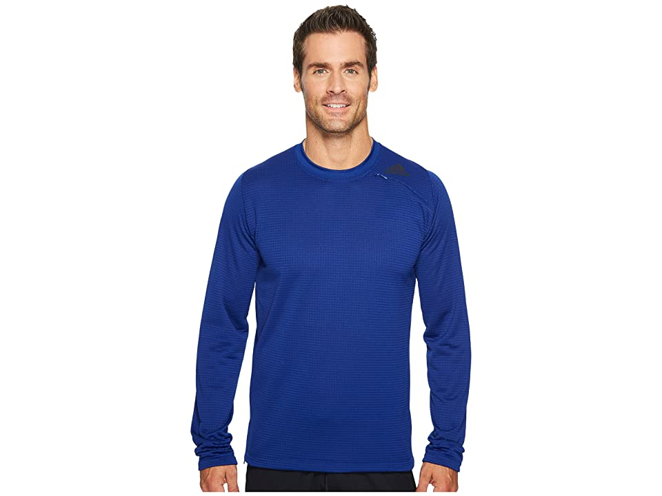 adidas Athlete ID Long Sleeve Cover-Up (Mystery Ink) Men