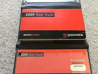 2005 DODGE RAM TRUCK Owners Manual [eb7610N]