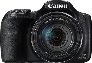 Canon Powershot Sx540 Hs Fotoğraf Makinesi, Full Hd (1080P), Siyah, 2 Yıl Canon Eurasia Garantili