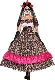 ladies day of the dead costume