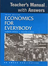 Economics for Everybody. Teacher's Manual with Answers