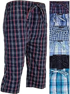 Andrew Scott 男童 6 条装针织裤 3/4 长慢跑短裤