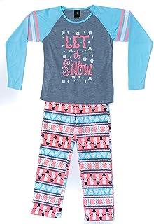 ZooFleece Girls Pink Hearts Kids Pajama Robe Nightgown Fleece Unisex Child Comfy