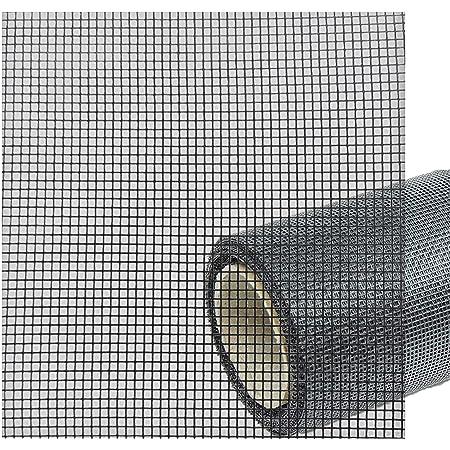 Fliegengitter Gewebe Insektenschutzgewebe f/ür Fenster und T/üren Rollenware 1,0 x 10,0 Meter schwarz Grundpreis//m/² 3,67 Euro