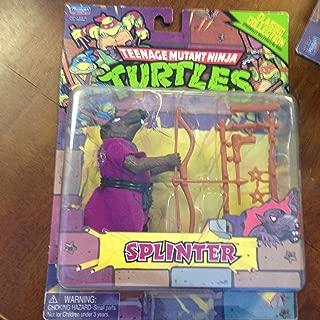 Teenage Mutant Ninja Turtles, Classic Collection Action Figure, Splinter, 4 Inches