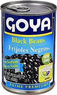 Best goya black beans nutrition dry Reviews