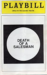 Death of a Salesman Playbill for 1974-75 Broadway Revival, starring and directed by George C. Scott - Circle in the Square Theatre - July 1975