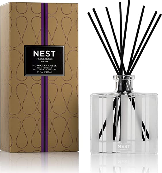 NEST Fragrances Moroccan Amber Scented Reed Diffuser 5 9 Oz