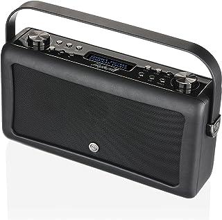 VQ 9790 Hepburn Mk II DAB+ Digital Radio with FM, Bluetooth & Alarm Clock – Black