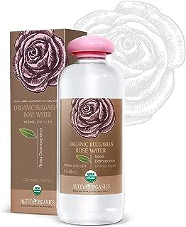 Alteya Organics - Agua Floral Natural de Rosa Búlgara (500 ml/17 oz) – USDA Certificacda Orgánica (Bio)