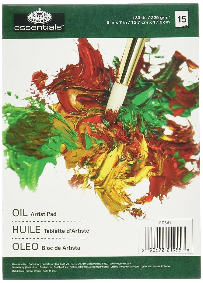 Essentials Oil Color Artist Paper Pad 5