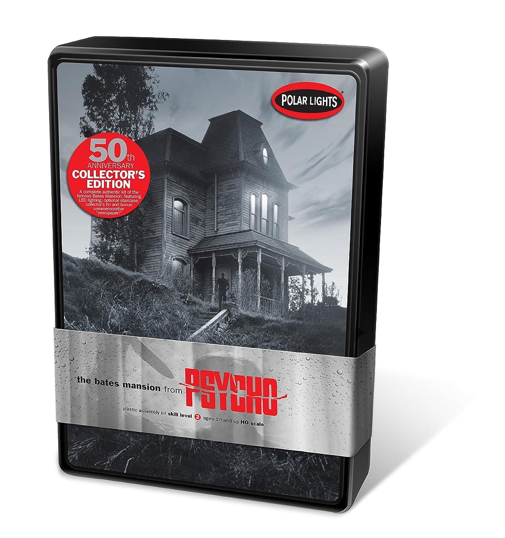 Polar Lights Psycho Bates Mansion 50th Anniversary Tin