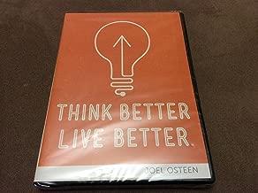 Think better, Live better - Joel Osteen (3 messages dvd/cd set)