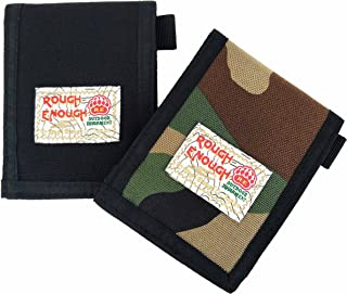 Rough Enough Business Office Student Party Credit Card Case Holder Slim Wallet Purse Front Pocket for Men Women School Teen Boy Girl with Card Slot Insert Compartment 2 Pack Set