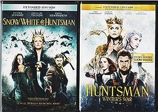 The Huntsman Winter's War & Snow White & The Huntsman DVD Set Amazing Fairy Tale Action Double Feature