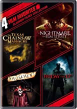 4 Film Favorites: Slasher Films (The Texas Chainsaw Massacre, Nightmare on Elm Street, Friday the 13th, Amusement)