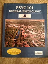 Boise State PSYC 101 General Psychology: Exploring Psychology in Modules