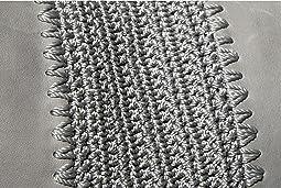 Denim Crochet Inset