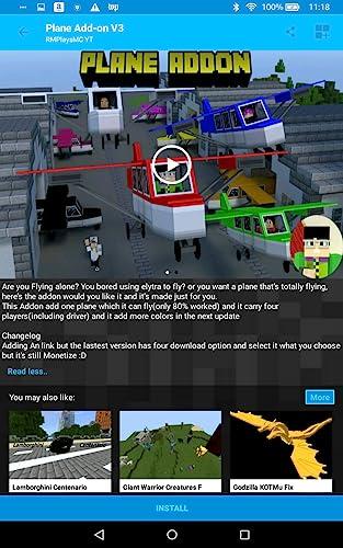 『Mods and AddOns for MCPE』の2枚目の画像