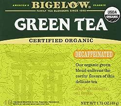 Bigelow Tea, 40 Bags - Organic Decaffeinated Green (2 Pack)