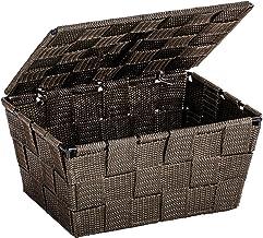 Wenko Adria 22199100Storage Basket Plastic 19 x 10 x 14cm Brown
